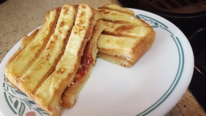French GRILLED Peanut Butter & Jelly